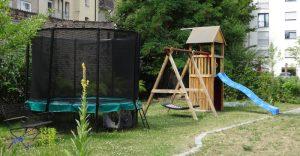 Spielplatz im Gemeinschaftsgarten