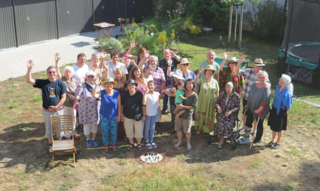 Sommerfest von andersWOHNEN-2010 - Teilnehmerinnen und Teilnehmer